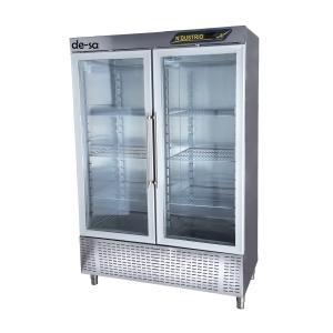 2 Cam Kapılı Snack Buzdolabı Paslanmaz Çelik DSTN1986