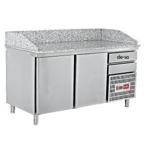 Pizza Hazırlık Buzdolabı Paslanmaz Çelik DSTN1944