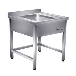 Laboratuvar Çalışma Tezgahı Tek Eviyeli Paslanmaz Çelik DSTN1614