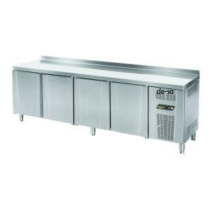 4 Kapılı Tezgah Tipi Snack Buzdolabı Paslanmaz Çelik DSTN1908