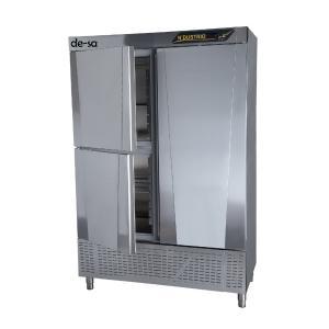 Dik Tip Snack Buzdolabı 1 Tam 2 Yarım Kapılı Paslanmaz Çelik DSTN1975