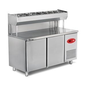 Salata Hazırlık Buzdolabı Paslanmaz Çelik DSTN1942