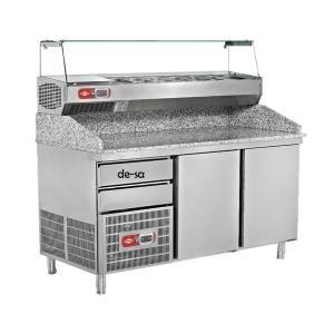 Pizza Hazırlık Buzdolabı Paslanmaz Çelik DSTN1945