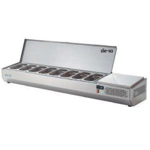 Set Üstü Soğuk Teşhir Dolabı 8 Küvetli Paslanmaz Çelik DSTN2099