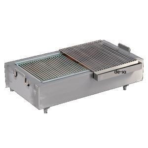 Tezgah Üstü Kömürlü Izgara Paslanmaz Çelik DSTN1684