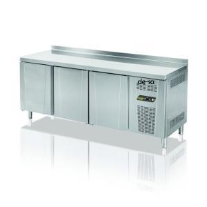 3 Kapılı Tezgah Tipi Gastronom Buzdolabı Paslanmaz Çelik DSTN1906