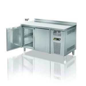 Tezgah Tipi 2 Kapılı Gastronom Derin Dondurucu Paslanmaz Çelik DSTN1990