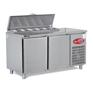 Salata Hazırlık Buzdolabı Paslanmaz Çelik DSTN1943