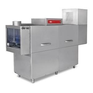 Konveyörlü Bulaşık Yıkama Makinesi Ön Yıkamalı Paslanmaz Çelik DSTN2186