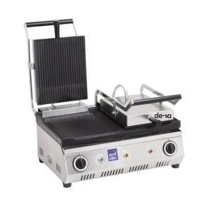 Tost Makinesi Çift Kapaklı Paslanmaz Çelik DSTN1879
