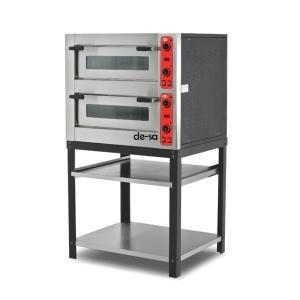Elektrikli Pizza Fırını Çift Katlı 4+4 Pizza Kapasiteli DSTN2140