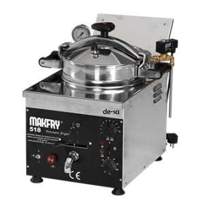 Basınçlı Fritöz Paslanmaz Çelik Makfry518 DSTN1811