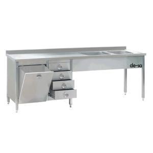 Alçı Hazırlama Masası Paslanmaz Çelik DSTN1599